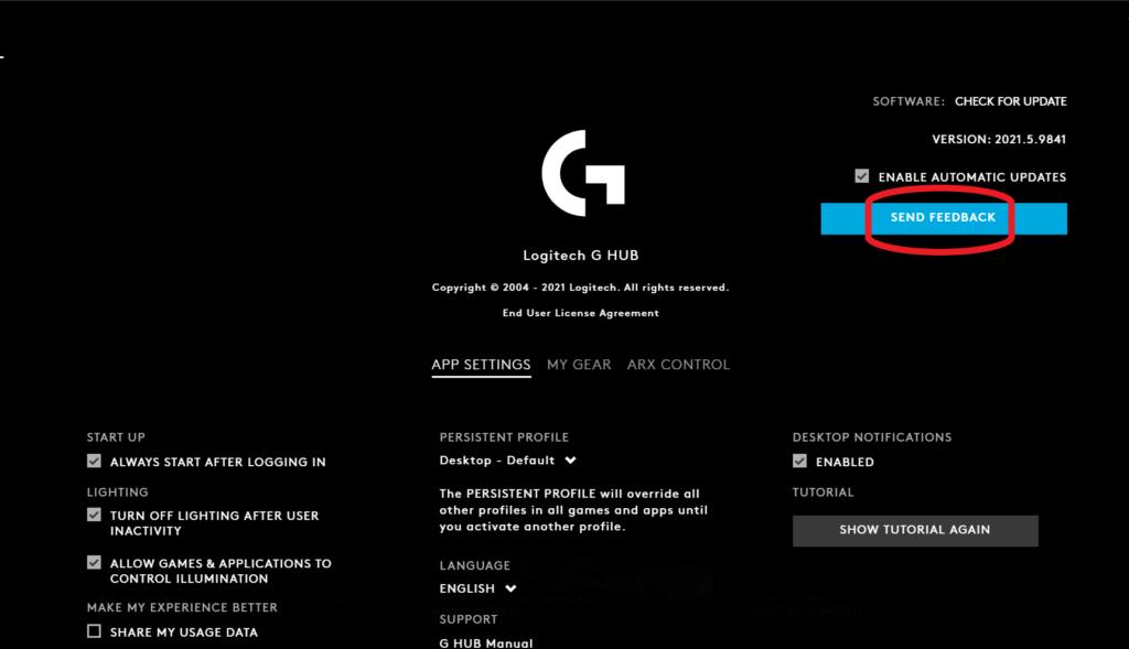 logitech g hub not detecting mouse